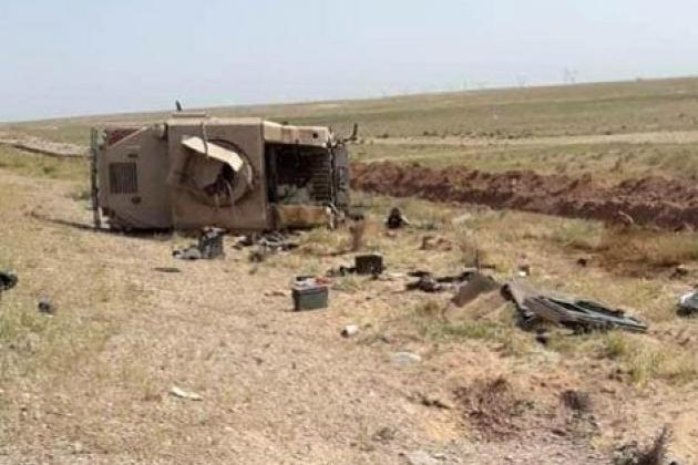 Quân đội Mỹ bị nhóm lạ mặt ở Syria tấn công, 2 binh sĩ nguy kịch