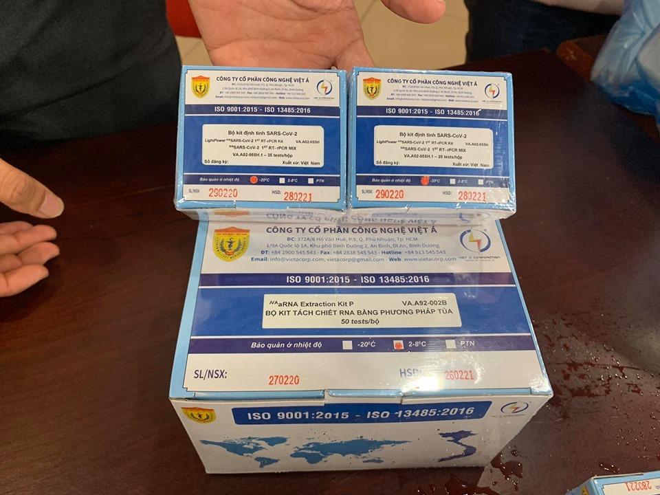 Bộ Kit xét nghiệm Covid-19 của Việt Nam đạt tiêu chuẩn xuất khẩu sang châu Âu