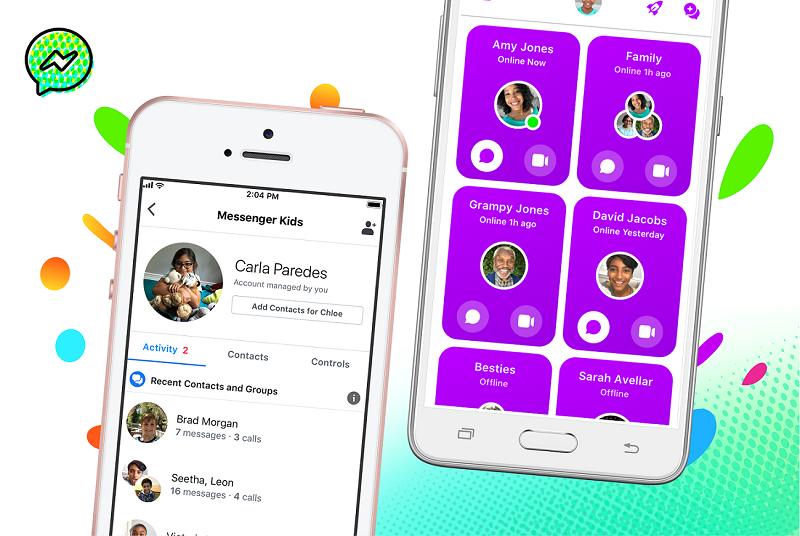 Messenger Kids chính thức có mặt tại Việt Nam, giúp phụ huynh giám sát trẻ