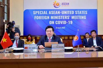 Hội nghị trực tuyến Đặc biệt các Bộ trưởng Ngoại giao ASEAN-Hoa Kỳ về COVID-19