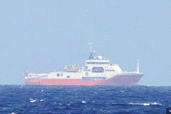 Ba chiến hạm Mỹ cùng tàu hộ vệ Australia tập trận trên Biển Đông