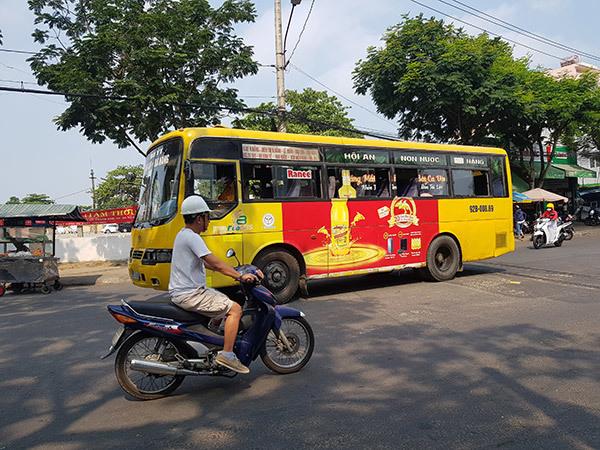 Đà Nẵng: Xe buýt nội thành, liên tỉnh tiếp tục tạm dừng, không chở khách đến vùng nguy cơ cao