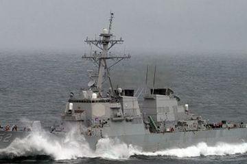 Tàu chiến nào của Mỹ vừa đi qua eo biển Đài Loan lần thứ hai trong tháng?
