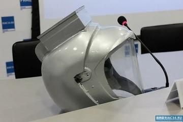 """Nga sáng chế """"mũ bảo hiểm"""" có khả năng chống lại sự lây nhiễm Covid-19"""