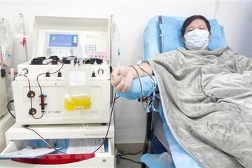Sớm thực hiện liệu pháp sử dụng huyết tương trong điều trị Covid-19