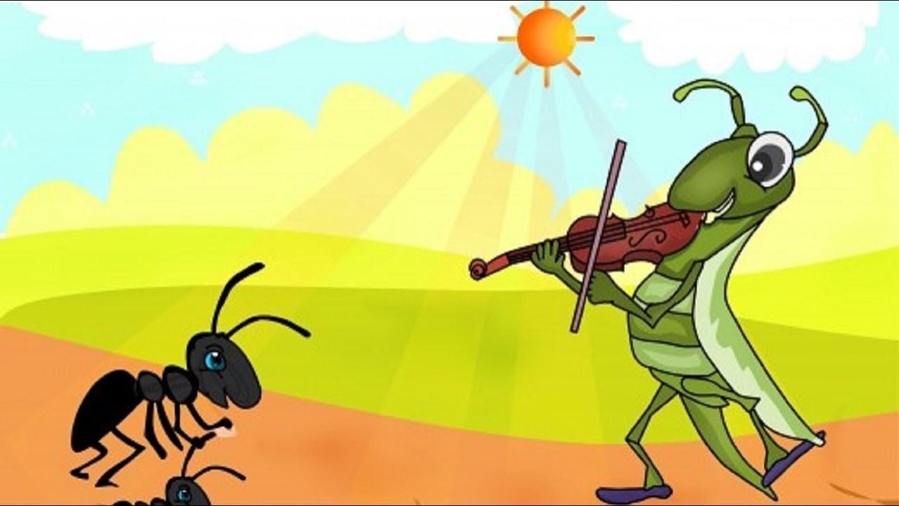 Bài học từ truyện ngụ ngôn: Kiến và Ve sầu