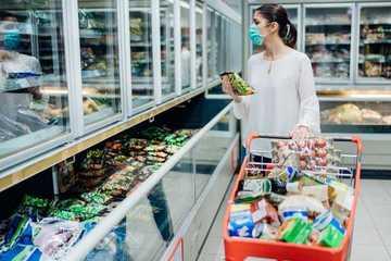 Giới nhà giàu Mỹ mạnh tay chi tiền, mua thêm tủ đông lạnh trữ thực phẩm