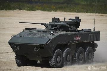 Xe thiết giáp Boomerang của Nga bắt đầu hội nhập với thị trường thế giới
