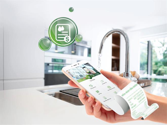 Vietcombank mở rộng nhiều dịch vụ thanh toán công trực tuyến trong tháng 4