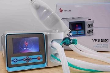 Tốc độ thần tốc, Vingroup hoàn thành hai mẫu máy thở phục vụ điều trị COVID-19