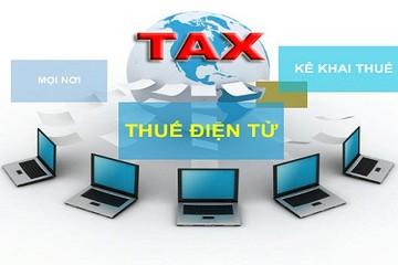 Người nộp thuế có thể giao dịch điện tử bất cứ lúc nào