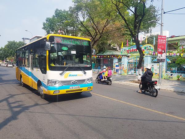 Xe buýt liên tỉnh liền kề, xe buýt nội thành Đà Nẵng được hoạt động trở lại