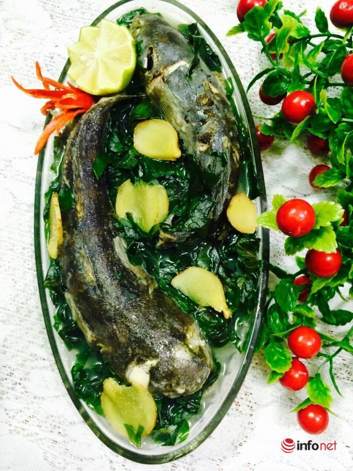 Cách nấu canh cá bớp lá lốt ngon như nhà hàng