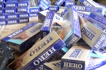 Bắt giữ xe vận chuyển gần 14.000 bao thuốc lá điếu nhập lậu