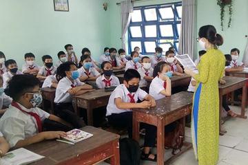 Sở GD-ĐT Đà Nẵng vừa có hướng dẫn mới về việc đeo khẩu trang tới trường
