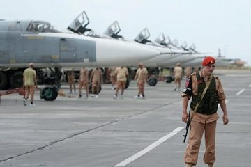 """Tình hình Syria: Nga có """"động thái lạ"""" với Iran tại căn cứ Hmeymim"""