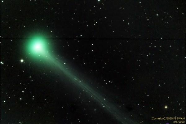Chúng ta sắp được tận mắt chiêm ngưỡng sao chổi 'Thiên nga' vượt qua Trái Đất