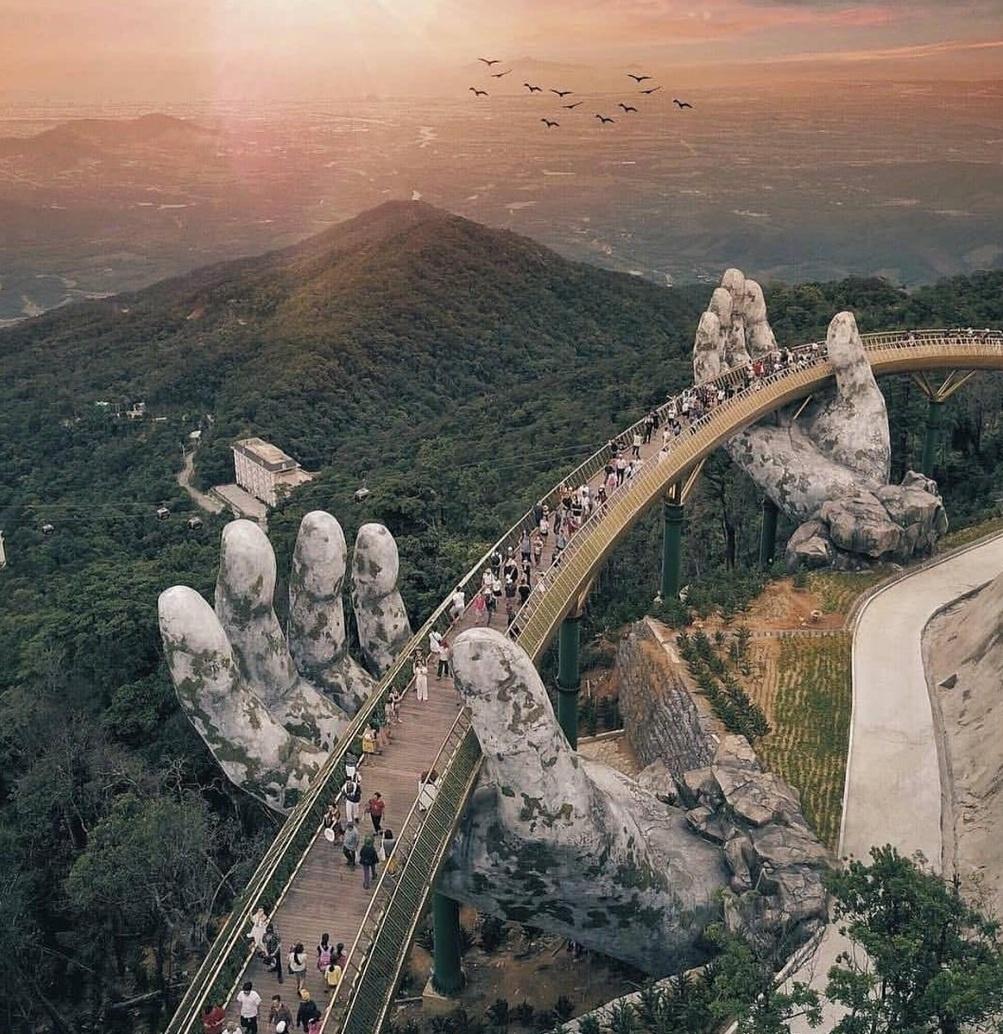 Những công trình khổng lồ gây ấn tượng thị giác