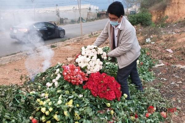 Sau thời gian ế ẩm, giá hoa Đà Lạt đang 'ấm' dần