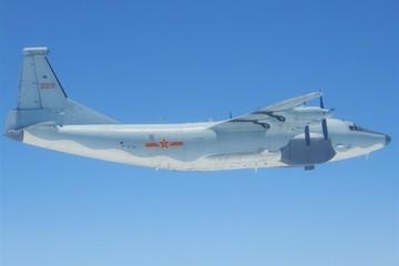 Máy bay vận tải quân sự Trung Quốc lại áp sát Đài Loan