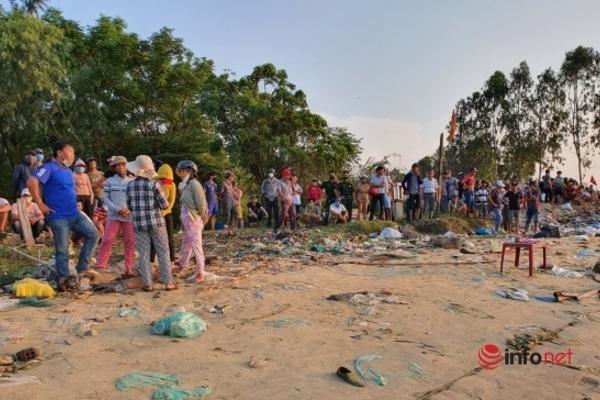 """Chìm ghe 5 người mất tích ở Quảng Nam: """"Tôi như đứt gan, đứt ruột"""""""