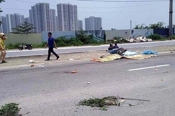 Va chạm với xe đầu kéo, 2 mẹ con nữ công nhân tử vong tại chỗ