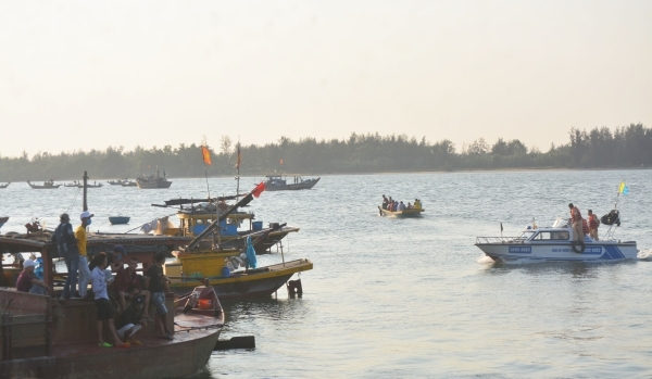 Vụ chìm ghe 5 người tử vong ở Quảng Nam: Tìm thấy 2 thi thể còn lại