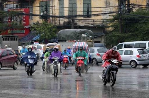 Miền Bắc giảm nhiệt mưa rào, Hà Nội đề phòng mưa đá