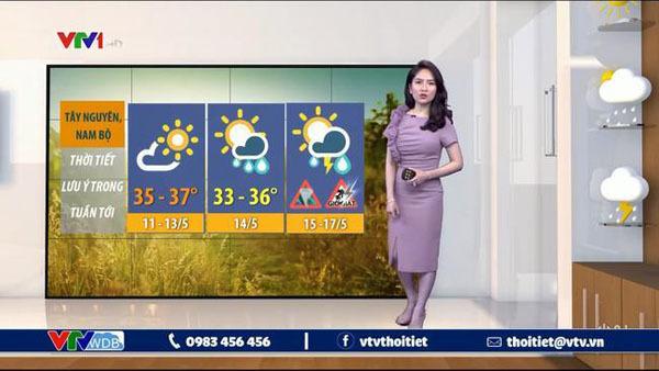 MC thời tiết