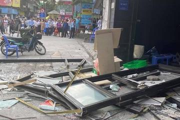 Hà Nội: Nam bảo vệ kể lại giây phút bị sức ép vụ nổ trong quán gà rán đẩy ngã