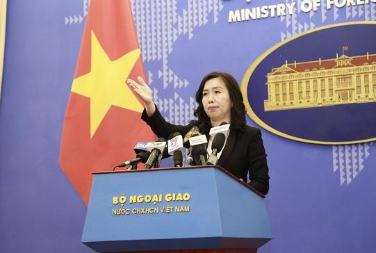 """Việt Nam phản đối mạnh mẽ việc thành lập cái gọi là """"thành phố Tam Sa' của Trung Quốc"""