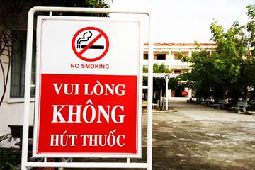 Bắc Giang: Cấm bán thuốc lá ngoài trường học