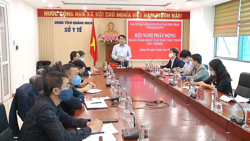 Quảng Ninh: Phát động Tháng hành động vì An toàn thực phẩm năm 2020