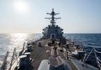 Thêm tàu chiến Mỹ vừa đi qua eo biển Đài Loan