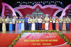 Tuyên dương 90 đảng viên trẻ tiêu biểu Thủ đô làm theo lời Bác năm 2020