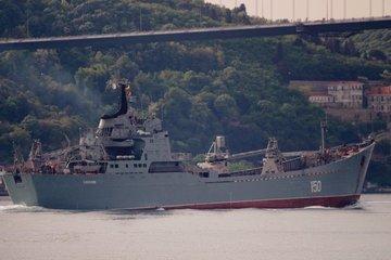 Tình hình Syria: Vũ khí Nga 'ùn ùn' nối đuôi tới Syria