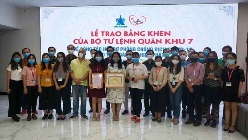 Bộ Tư lệnh QK 7 tặng bằng khen cho Tập đoàn Tân Hiệp Phát