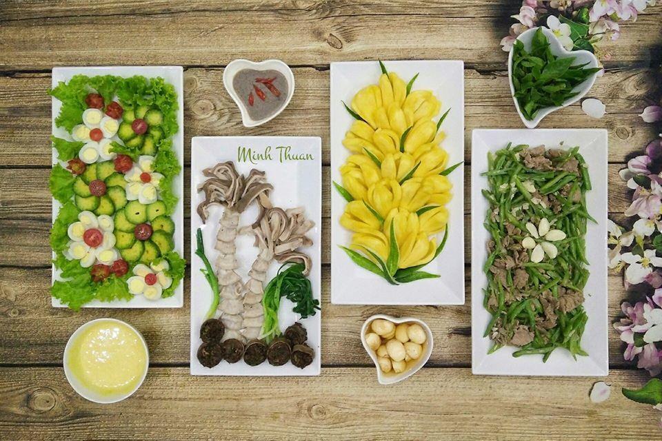 Trình bày món ăn như tranh nghệ thuật: Không nỡ ăn, chỉ muốn treo tường thôi!