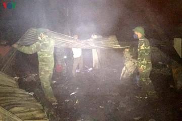 Hỏa hoạn ở Lai Châu thiêu rụi 3 căn nhà liền kề trong đêm