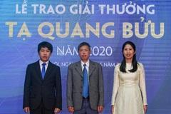 Trao giải thưởng Tạ Quang Bửu nhân ngày KH&CN Việt Nam