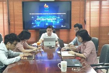 Phiên họp trực tuyến đầu tiên của Ủy ban Điều phối Thương mại điện tử ASEAN