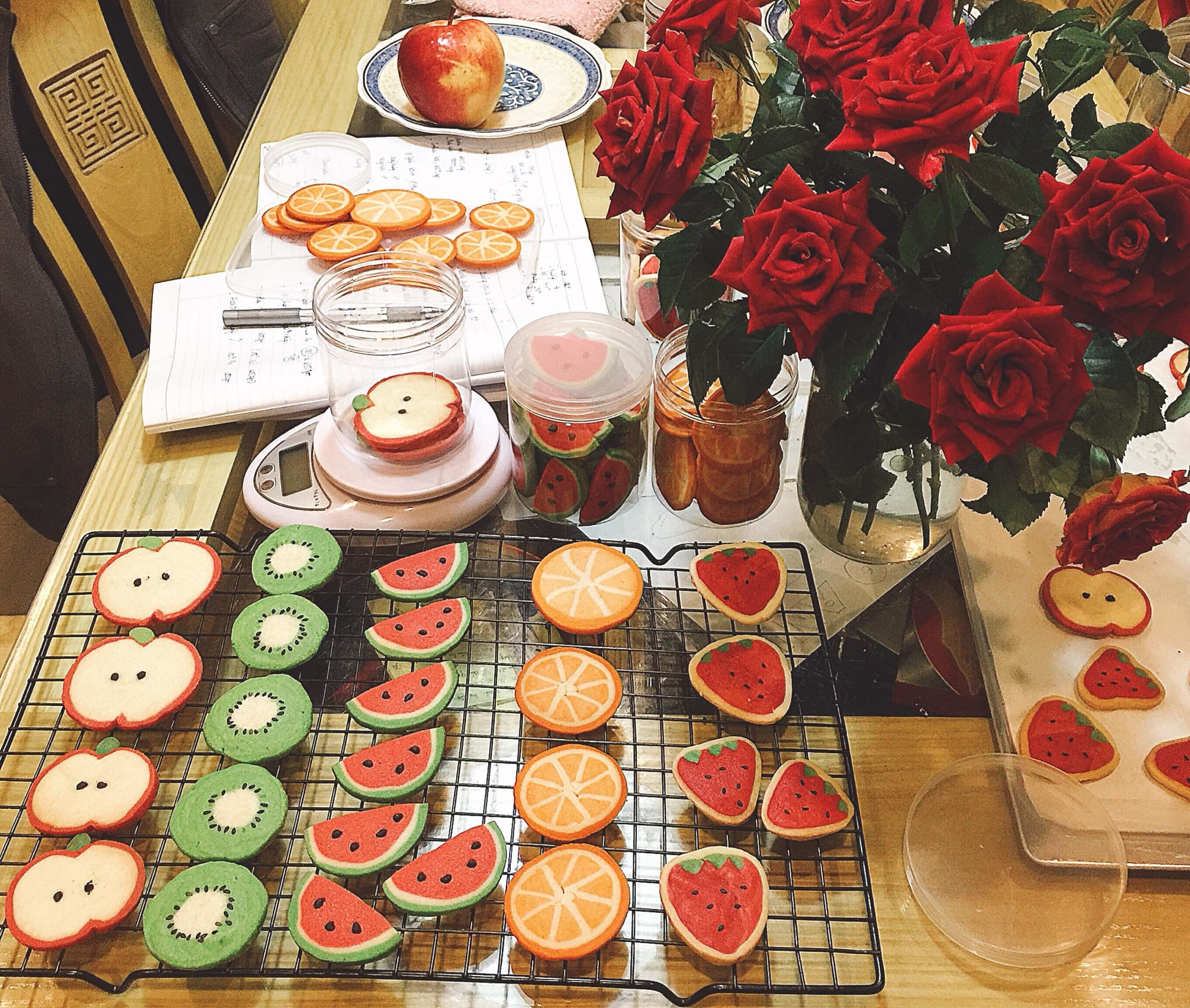 cách làm bánh quy đẹp