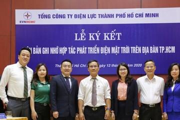 Tổng công ty Điện lực TP.HCM đẩy mạnh hợp tác phát triển điện mặt trời