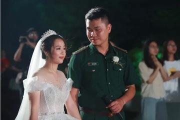 Điều ước thứ 7: Đám cưới đặc biệt của người chiến sĩ giữa mùa dịch COVID-19