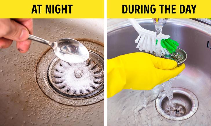 mẹo vặt khử mùi hôi ống thoát bồn rửa
