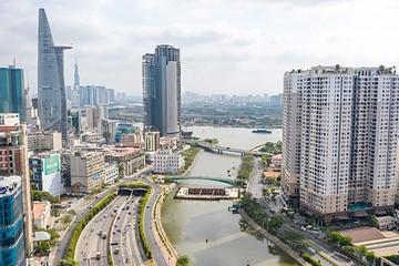 Ảnh nhìn từ trên cao dự án chống ngập 10.000 tỷ đồng ở Sài Gòn