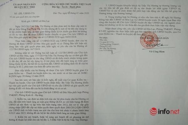 Kỳ lạ Hà Tĩnh: Cấp đất cho gia đình Mẹ VNAH không có đường vào, cần thì leo qua núi