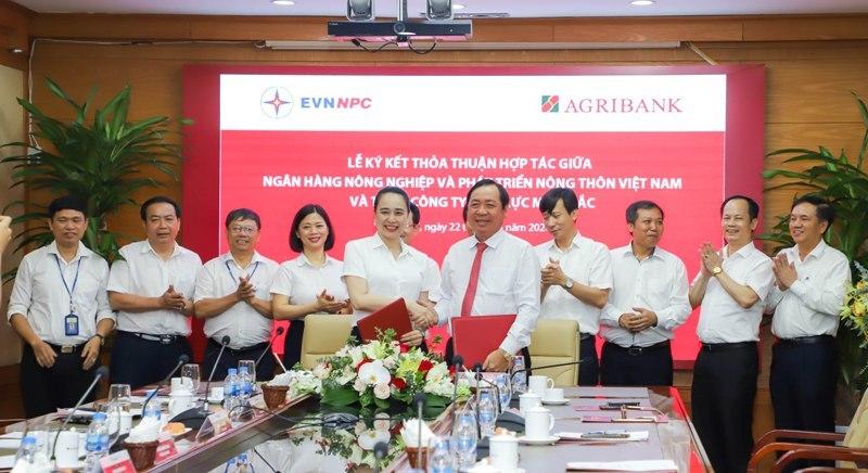 Agribank và EVNNPC hướng tới mục tiêu trở thành đối tác chiến lược