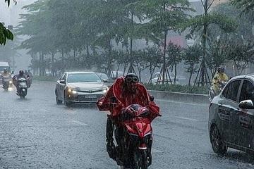 Dự báo thời tiết hôm nay, 26/5: Mưa dông diện rộng ở Bắc bộ và Thanh Hóa