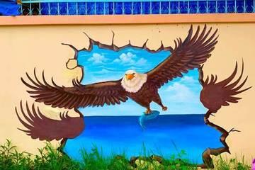 Ngôi trường cấp 3 ở Cần Thơ sáng bừng với loạt tranh bích họa sống động